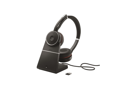 Jabra Evolve 75 Stereo Charging Stand & Link 370